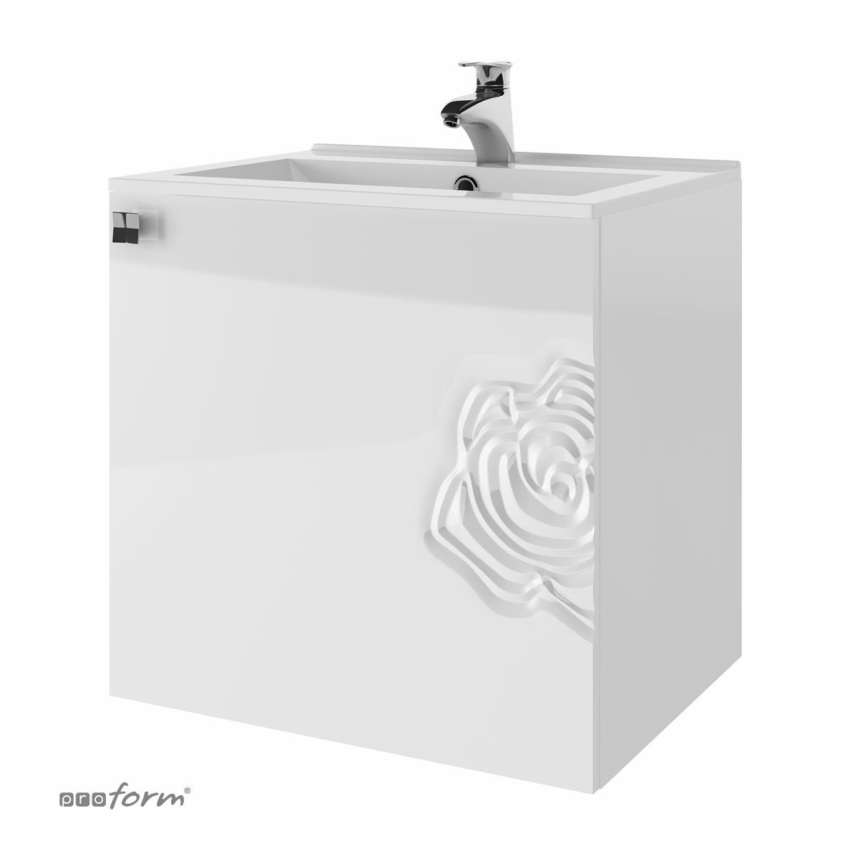 Szafka ROSE pod umywalkę 60 biała