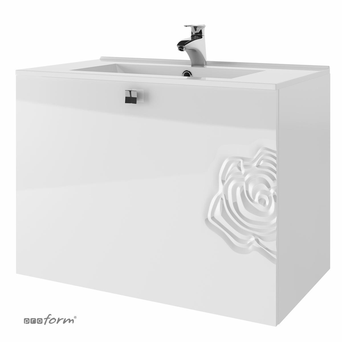 Szafka ROSE pod umywalkę 80 biała