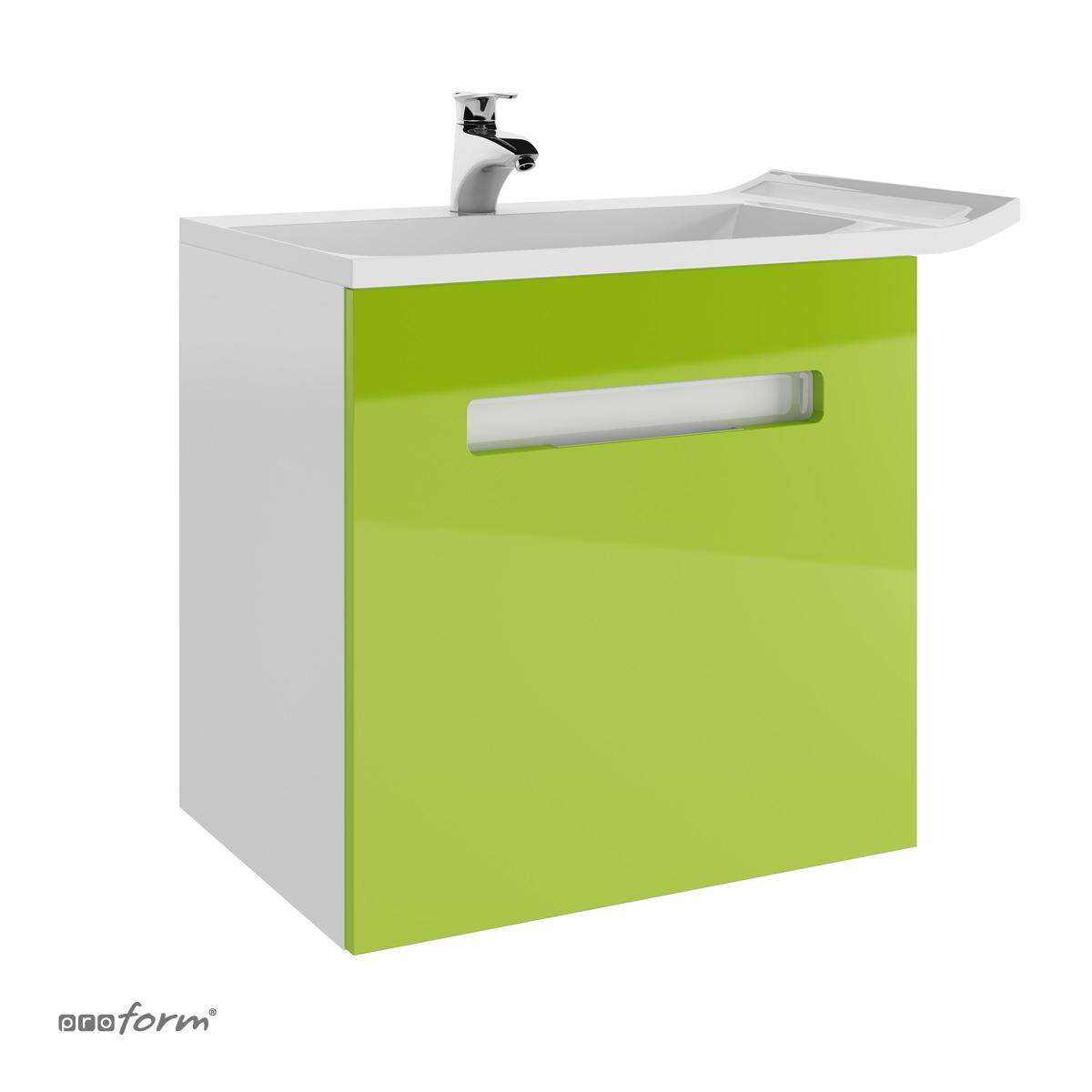 Szafka pod umywalkę OPEN LATOYA zielona Proform