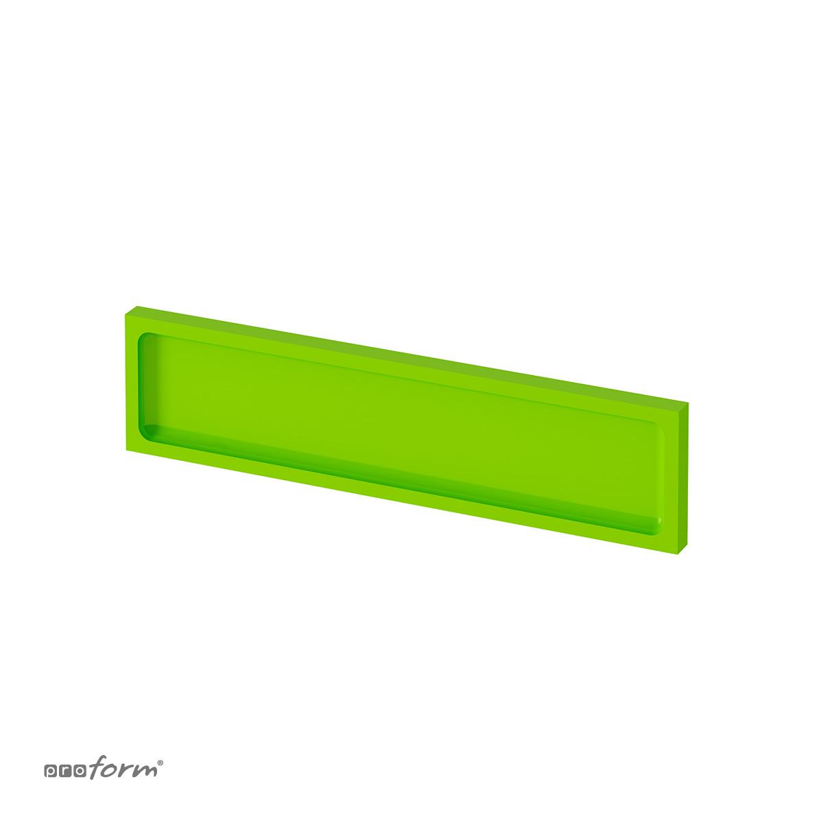 Zaślepka do szafek łazienkowych OPEN 04B zielona Proform