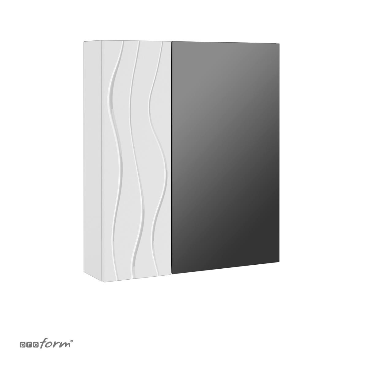 Szafka ONDE z lustrem biała