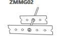 Zestaw montażowy maskownicy grzejnikowej ażurowej ZMMG02