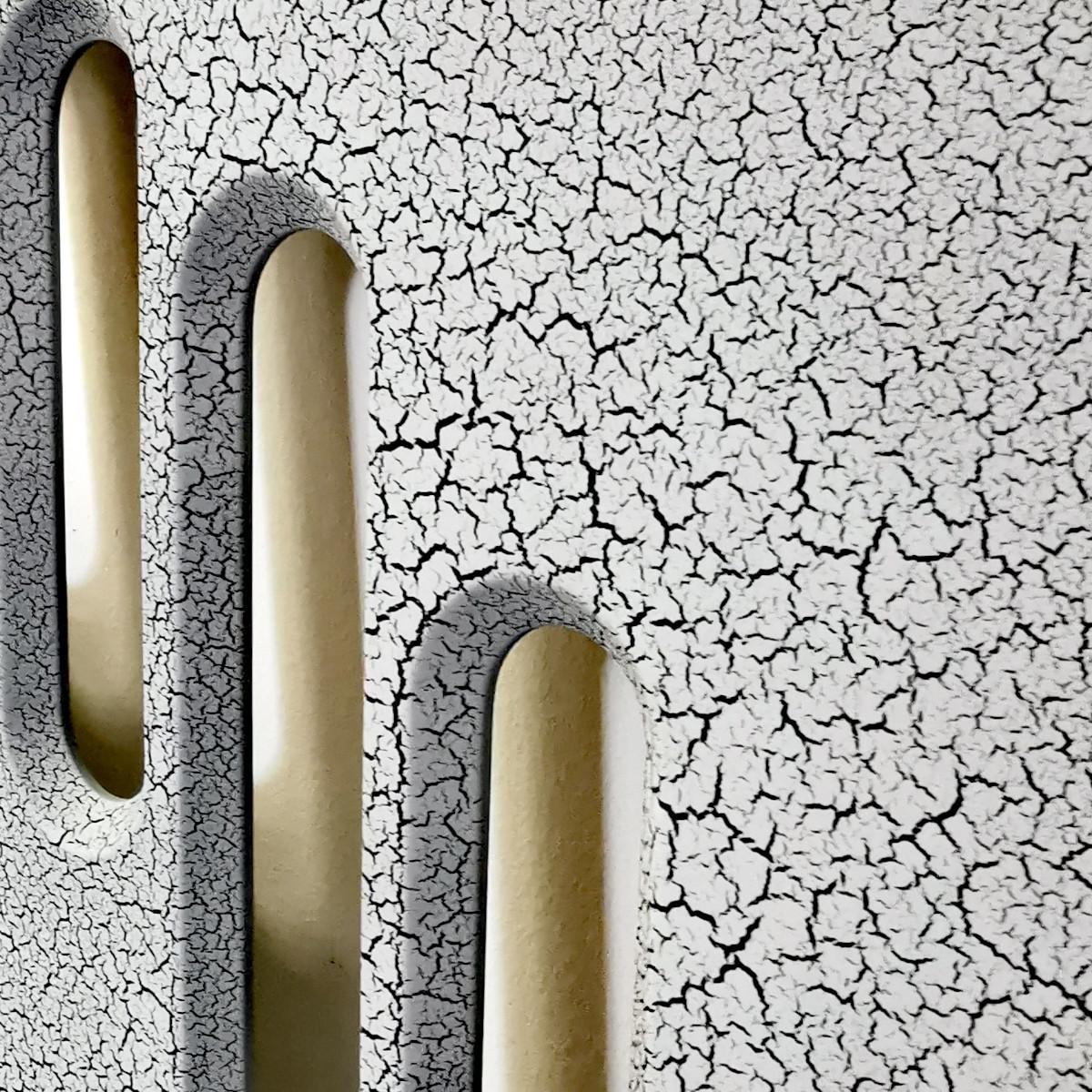 Panel Crack Biały 860x860