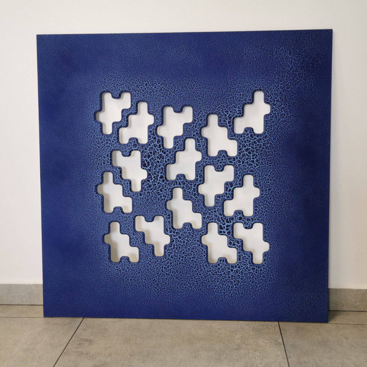 Panel Crack Niebieski 900x900