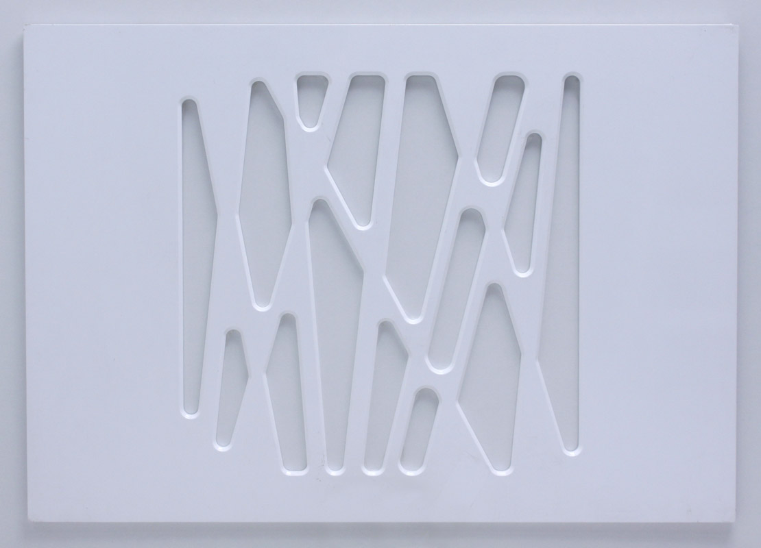 Maskownica powystawowa GEO 100 biały połysk